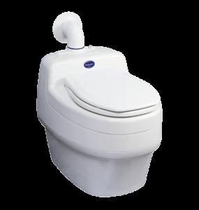 Separett Villa 9010 waterless compost toilet for 12v off-grid use
